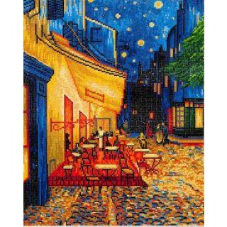 Diamond Dotz - Cafe at night Van Gogh
