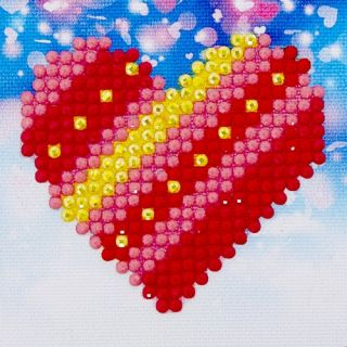 Diamond Dotz - Patchwork Heart