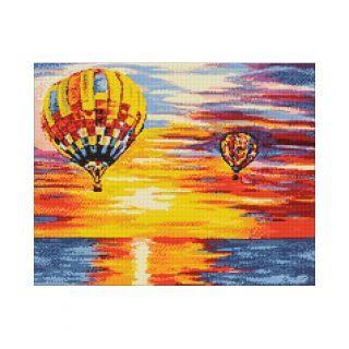 Diamond Painting Air Baloons - Wizardi