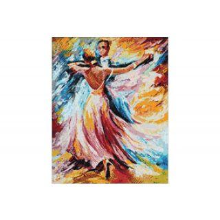 Diamond Painting Dance of Colours - Wizardi