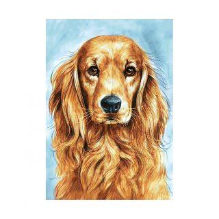 Diamond Painting Faithful Dog - Wizardi