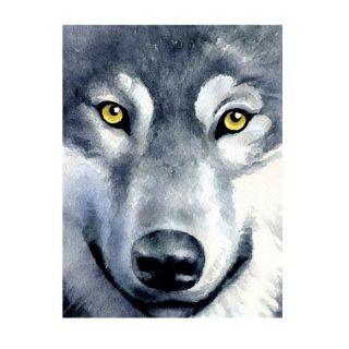 Diamond Painting Wolf Look - Wizardi