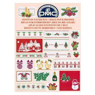 DMC Boekje Ideeen om te borduren - Kerst