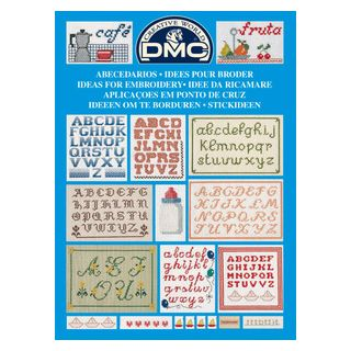 DMC Boekje Ideeen om te borduren - ABC