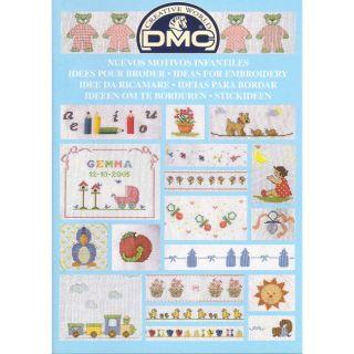 DMC Boekje Ideeen om te borduren - Nieuwe kindermotieven
