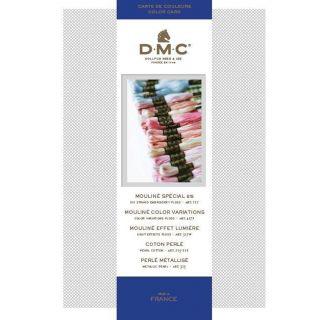 DMC Kleurenkaart borduurgaren - incl nieuwe kleuren
