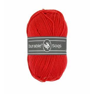 Sokkenwol Durable Soqs - 318 Tomato
