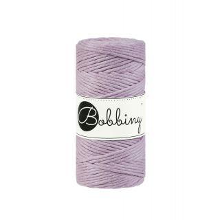 Bobbiny Macrame Triple Twist 3 mm - Dusty Pink