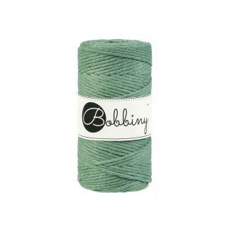 Bobbiny Macrame 3 mm - Eucalyptus Green