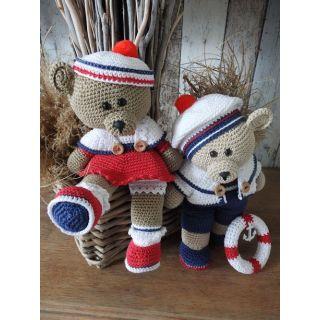 Haakpakket Funny bears Rody en Amy