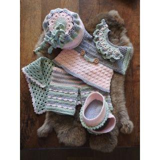 Haakpakket Funny Bunny XXL kledingset - Spring Soft