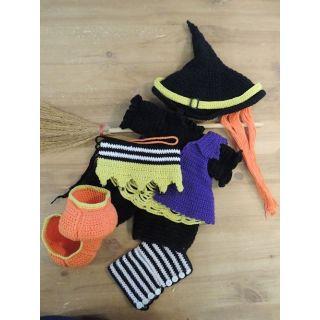 Haakpakket Funny Bunny XXL kledingset - Witch Carry