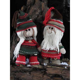 Haakpakket Funny Gnoomy Kerst set
