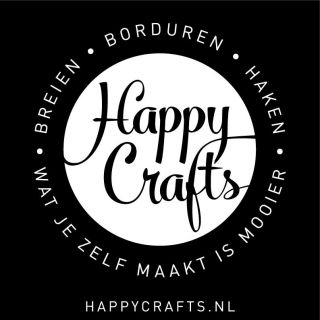 Katoenen tas Happy Crafts
