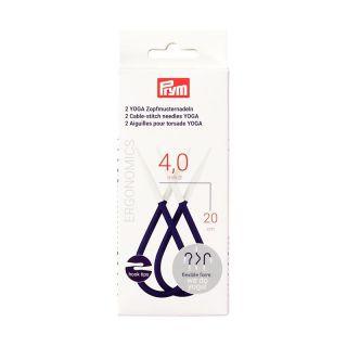 Kabelnaald Yoga ergonomisch 4.0 mm - 20 cm - Prym