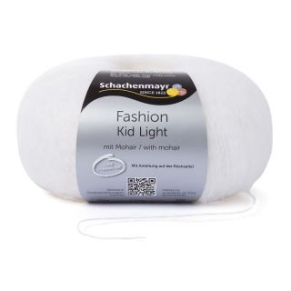 Kid Light met mohair - wolwit - SMC