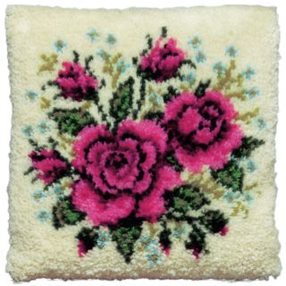 Knoopkussen Rode rozen - Pako