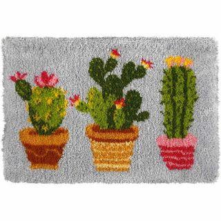 Knooptapijt Cactus - Orchidea