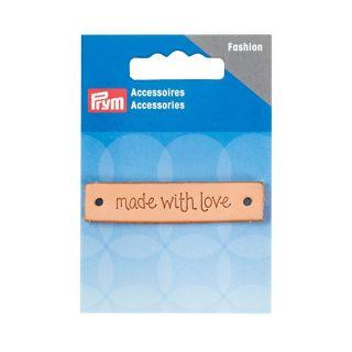 Made with Love Label Leer - rechthoekig
