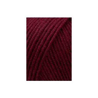 Lang Yarns Merino 120 - 0163 donkerrood