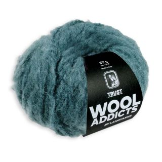 Lang Yarns Wooladdicts Trust - 018 dark teal