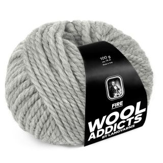 Lang Yarns Wooladdicts Fire - 003 light grey