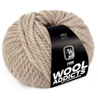Lang Yarns Wooladdicts Fire - 026 beige