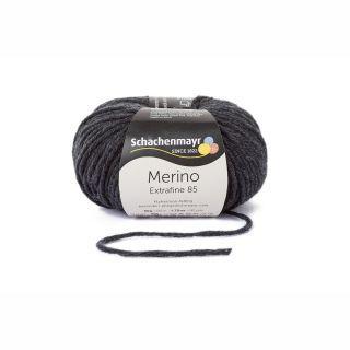 Merino Extrafine 85 - 00258 Anthrazit meliert - SMC