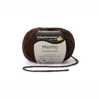 Merino Extrafine 120 - 00112 donkerbruin - SMC
