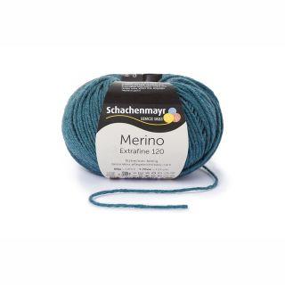 Merino Extrafine 120 - 00166 oceaanblauw gemeleerd - SMC