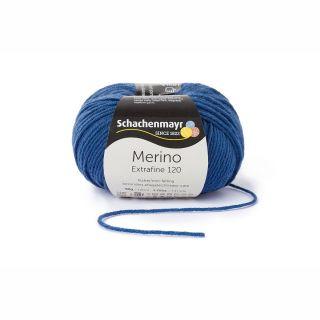 Merino Extrafine 120 - 00154 jeans blauw - SMC