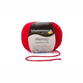 Merino Extrafine 120 - 00131 kersen rood - SMC
