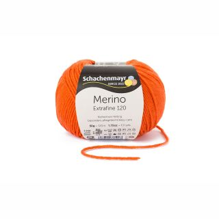 Merino Extrafine 120 - 00125 oranje - SMC