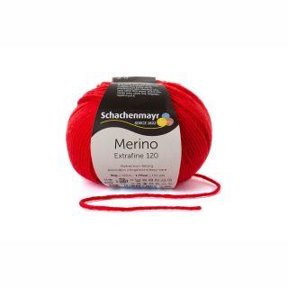 Merino Extrafine 120 - 00130 tomaat rood - SMC