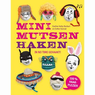 Minimutsen haken - haakboek