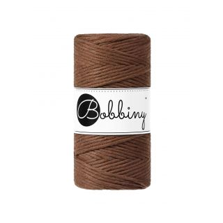 Bobbiny Macrame Triple Twist 3 mm - Mocha