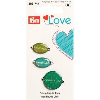 Pins Handmade groen - Prym