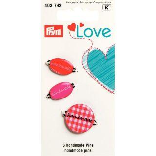 Pins Handmade rood - Prym