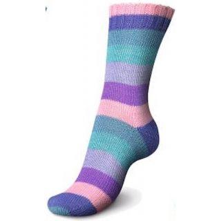 Regia sokkenwol Pairfect Rainbow Frozen Color - 01732
