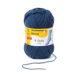 Regia sokkenwol 4-draads indigo 2740 - Schachenmayr