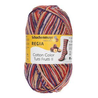 Regia sokkenwol Tutti Frutti katoen Plum - 2427