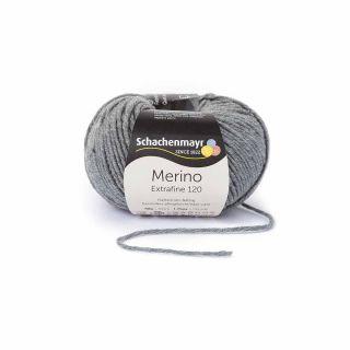 Merino Extrafine 120 - 00192 middengrijs gemêleerd - SMC