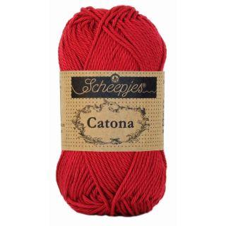 Catona katoen Scarlet 192 - Scheepjes