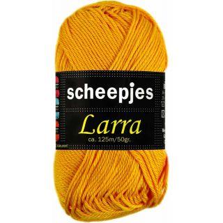 Larra katoen 7380 zonnebloem geel - Scheepjeswol