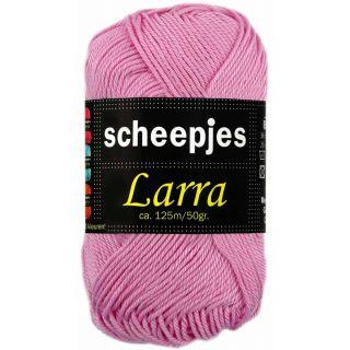 Larra katoen 7403 roze - Scheepjeswol