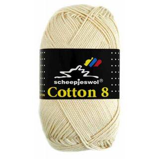 Scheepjeswol Cotton 8 naturel 501