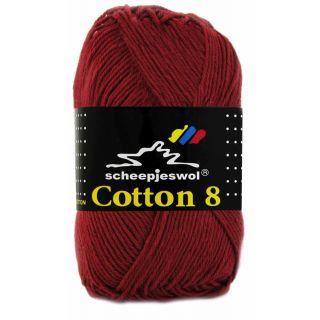 Scheepjeswol Cotton 8 bordeaux 717