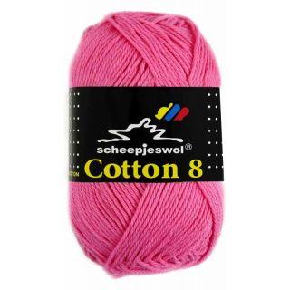 Scheepjeswol Cotton 8 roze 719