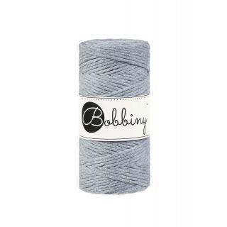 Bobbiny Macrame Triple Twist 3 mm - Silver