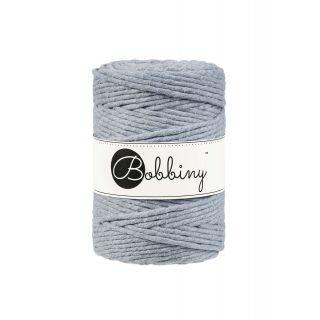 Bobbiny Macrame Triple Twist 5 mm - Silver